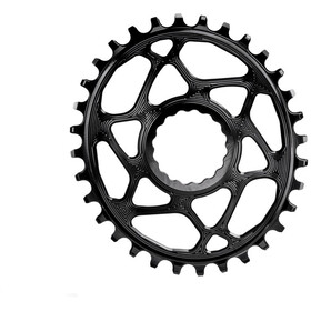 absoluteBLACK Oval Chainring Spiderless Boost148 for Race Face Cinch, black